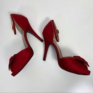 Nina Shoes - Nina 8.5 Scarlet Electra D'Orsay Pump Ankle Strap